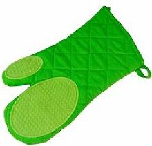 Gant de cuisine avec protection silicone