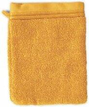 Gant de toilette 16x21 cm juliet jaune 520 g/m2