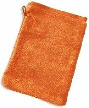 Gant de toilette 16x21 cm pure orange 550 g/m2
