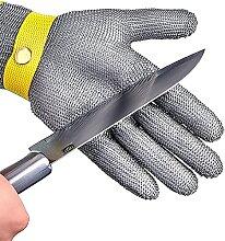 Gant résistant à la coupe en acier inoxydable