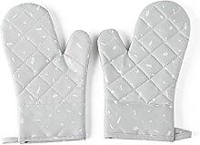 Gants anti-brûlure 1 paire gants de cuisson en