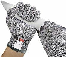 Gants Anti Coupures avec Meilleure Protection