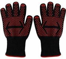 gants de cuisson Mitaines de four 500°C Gant