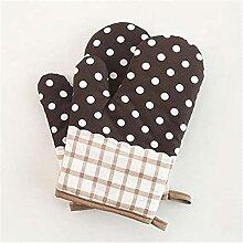 Gants de four 1 paires de style pastoral Gant à