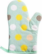 Gants de four 1 pc coton gant gant micro-ondes