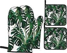Gants de Four et maniques,Jungle Fourrés Verts de