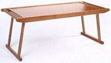 GAOLIM Table Pliante en Bambou d'art, Table