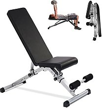 gaoxiao Banc de Musculation Pliable Inclinable