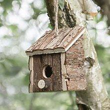 garden mile® Nichoir à oiseaux fantaisie en bois