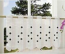 Gardinenbox Rideau Brise-bise Transparent en