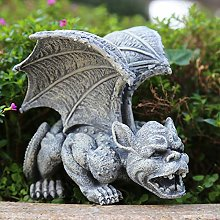 Gargouille Figurine Statue Gothique Gardien De