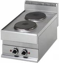 GASTROMASTRO Cuisinière électrique 2 plaques