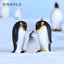 Gâteau de maison de poupée, Figurine de pingouin