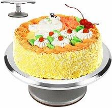 Gâteau Turntable, 12inch aluminium gâteau