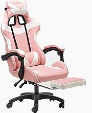 GAXQFEI Bureau Chaise Avec Accoudoirs Gaming