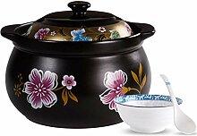 GAXQFEI Casseroles Pot À Soupe En Céramique Avec