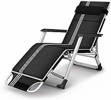 GAXQFEI Chaise de camping pliable, chaise longue,