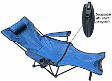 GAXQFEI Chaise de camping pliable, inclinable et