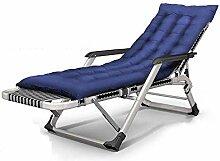 GAXQFEI Chaise de camping pliante - 15 positions -
