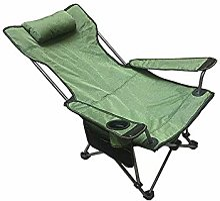 GAXQFEI Chaise de camping pliante, chaise longue