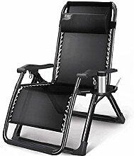 GAXQFEI Chaise de camping pliante - Chaise longue
