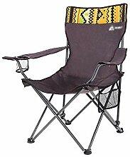 GAXQFEI Chaise de camping pliante et inclinable