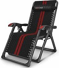 GAXQFEI Chaise de camping pliante inclinable zéro