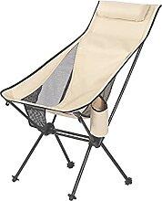 GAXQFEI Chaise de Camping Portable, Chaise de