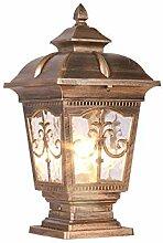 GAXQFEI Continental Victoria Lampe de Table En