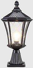 GAXQFEI Lampe de Bureau de Table En Verre À