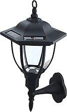 GAXQFEI Lanternes Solaires En Plein Air, Lumières