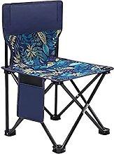 GAXQFEI Petite Chaise de Camping Pliante Tabouret