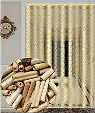 GAXQFEI Porte de Rideau de Perle En Bois de Bambou