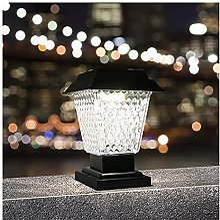GAXQFEI Post Lights Post Cap Lights Garden Outdoor
