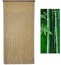 GAXQFEI Rideau de Porte En Bambou Naturel, Rideau