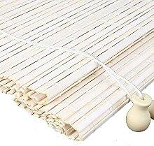 GAXQFEI Stores À Lamelles En Bambou Blanc Avec