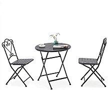 GAXQFEI Table À Manger Pliante Chaise de Balcon,