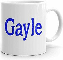 Gayle Tasse à café personnalisée pour le thé,