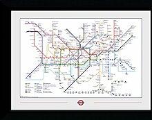 GB Eye Ltd Transport for London, Carte du métro