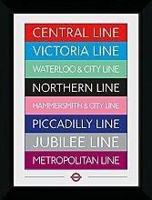 GB Eye Ltd Transport for London, Les Lignes