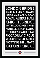 GB Eye Ltd Transport for London, lieux (30mm