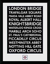 GB Eye Ltd Transport for London, lieux, encadrée,