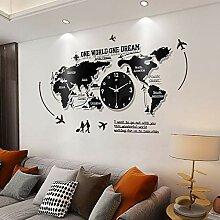 GBHJJ Horloge Murale Design Moderne, 3D Acrylique