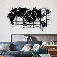 GBHJJ Horloge Murale Design Moderne, Nord de