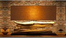 gdegdesign Lampe à poser design bois flotté avec