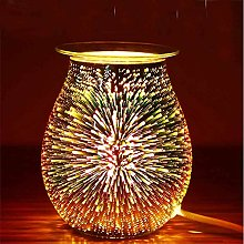 GDICONIC Brûleur à huile électrique 3D - Lampe