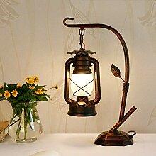 GDICONIC Lampe de Table Lampe rétro Lanterne