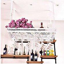 GDSKL Casier à vin Barres à double niveau