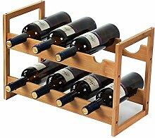 GDSKL Casier à vin Organisation de rangement de