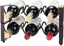 GDSKL Casier à vin Organisation de stockage de